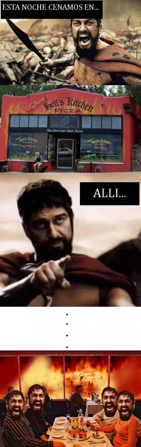 Otros - La pizzería de Leónidas