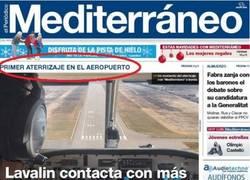 Enlace a Aterriza el primer avión en el aeropuerto de Castellón