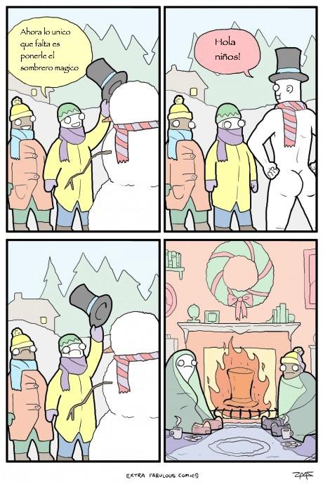 Otros - Nunca le pongas un sombrero a un muñeco de nieve