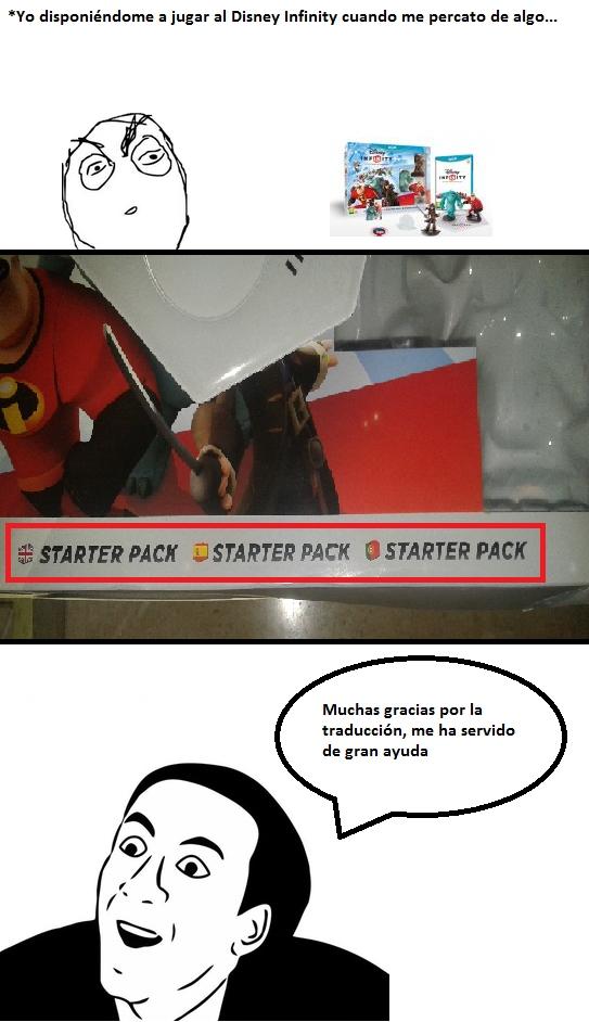 No_me_digas - La traducción no es el punto fuerte del Disney Infinity