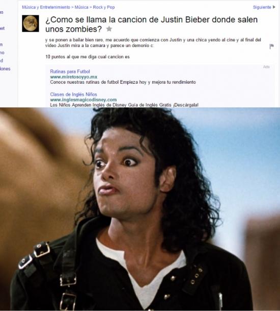 Meme_otros - Michael Jackson se debe estar retorciendo en su tumba