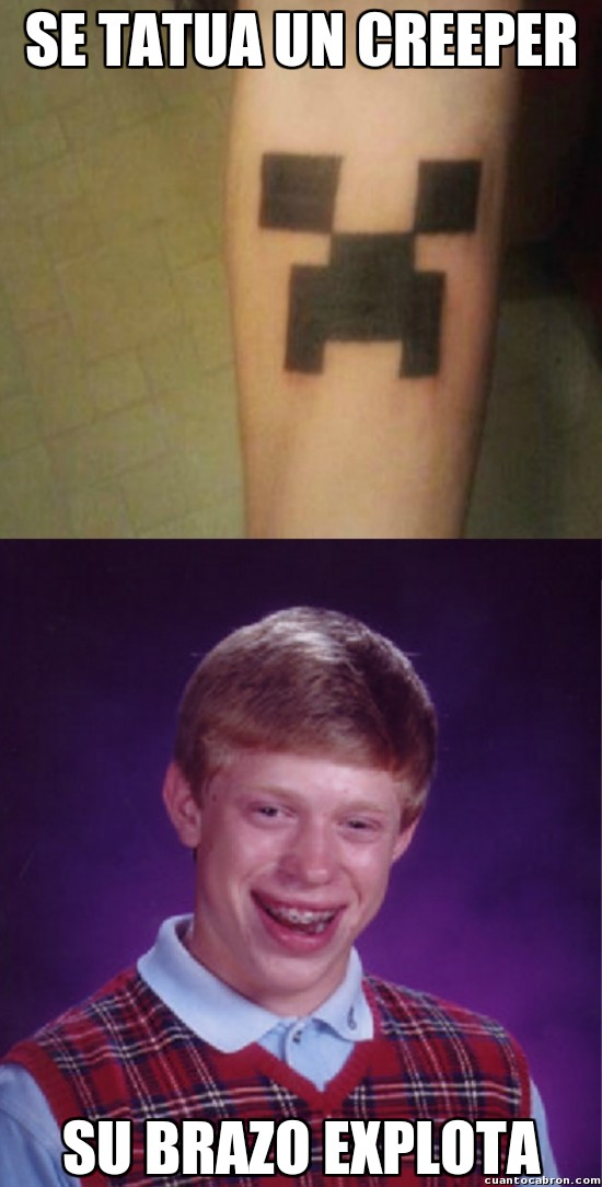 Bad_luck_brian - El tatuaje que Brian no debería hacerse nunca