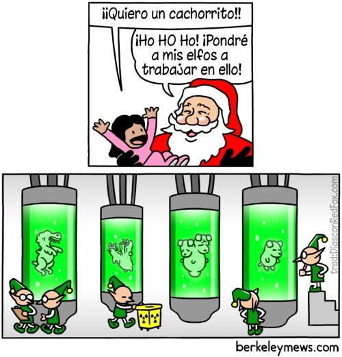 Otros - Pide lo que quieras, total, Santa le dira a sus elfos que le hagan