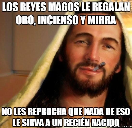 Good_guy_jesus - Los Reyes Magos no acertaron mucho con los regalos al niño Jesús