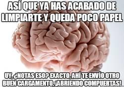 Enlace a El cerebro troll sabe ayudarte cuando estás en el retrete