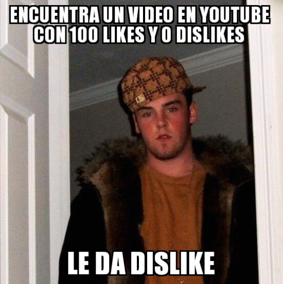 Scumbag_steve - El típico troll de Youtube