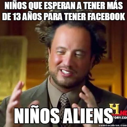 Ancient_aliens - Lo fácil que es burlar los límites de edad en Facebook