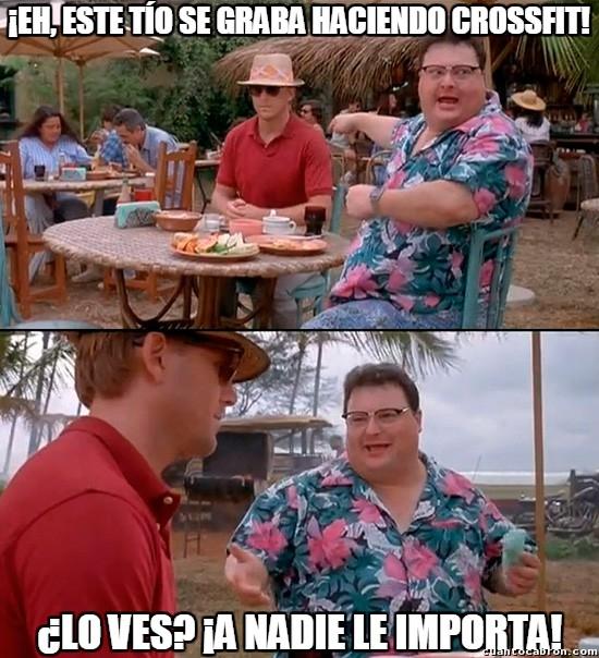 A_nadie_le_importa - Los cansinos del CrossFit