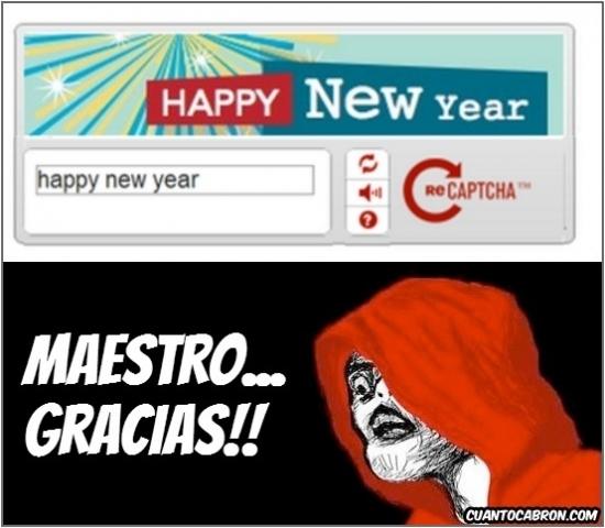 Inglip - ¡Lord Captcha nos desea Feliz Año Nuevo!