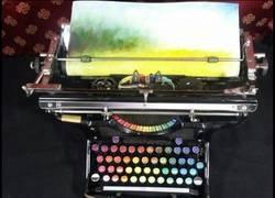 Enlace a La máquina de escribir de Puke Rainbows