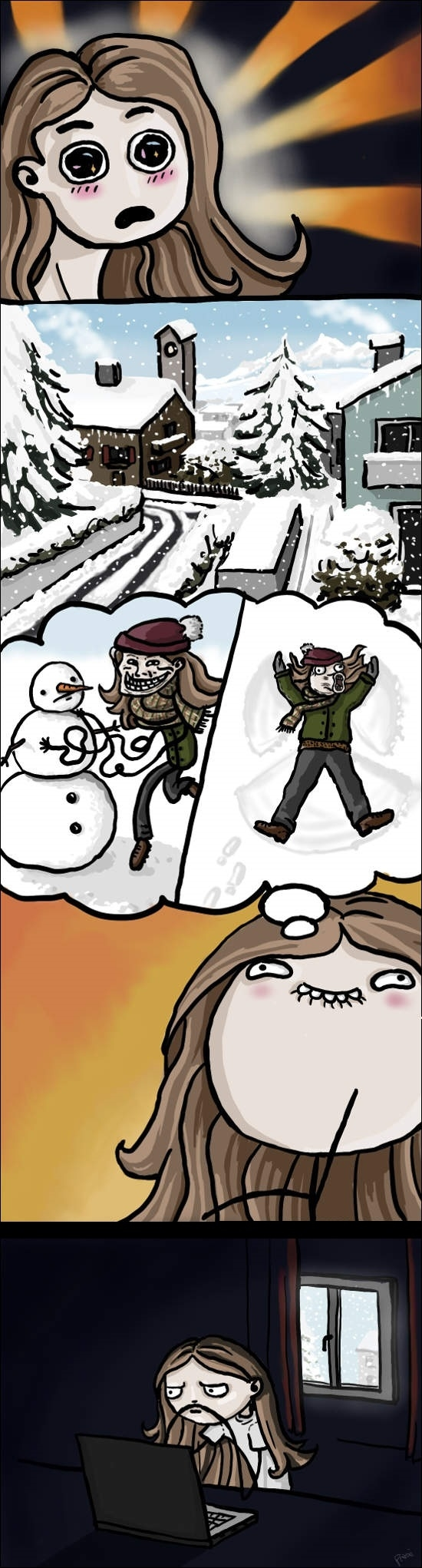 Otros - Como creemos que será un día de nieve y lo que realmente hacemos