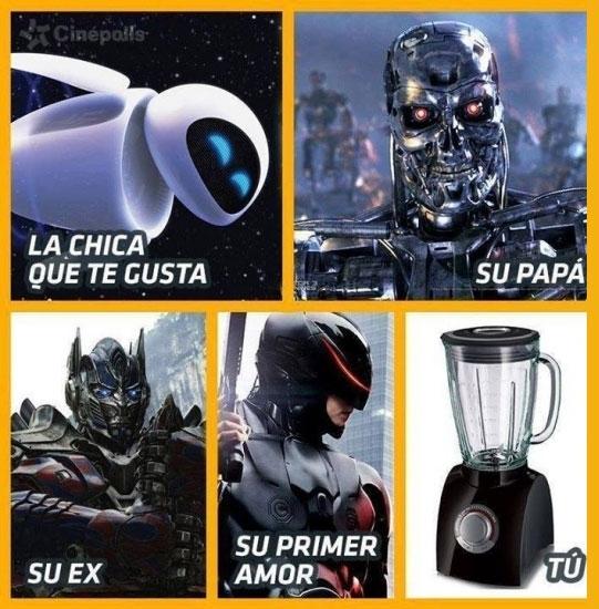 Otros - Si me comparo con robots, esta es mi situación sentimental