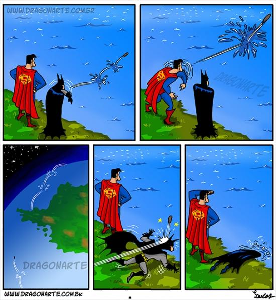 Otros - La fuerza de Superman es peligrosa hasta para sus amigos