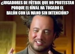 Enlace a En el fútbol hasta lo intencional es penalty