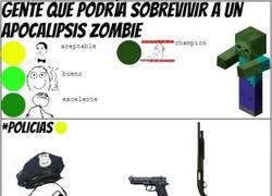 Enlace a Gente que probablemente sobreviviría a un apocalipsis zombie
