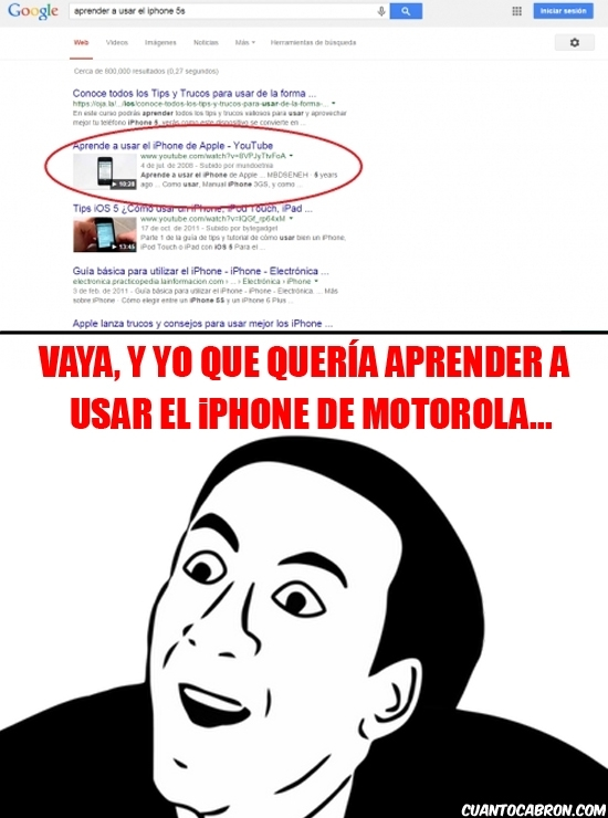 No_me_digas - ¿Aprender a usar el iPhone de Apple?