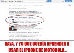 Enlace a ¿Aprender a usar el iPhone de Apple?