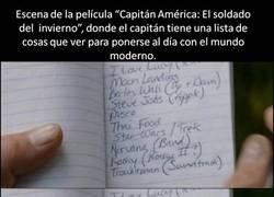 Enlace a La sorpresa que se debió llevar el Capitán América al ver eso