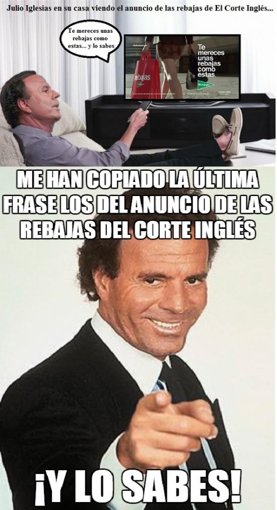 Otros - ¡A Julio Iglesias le han copiado su frase!
