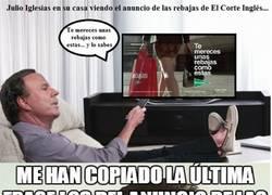 Enlace a ¡A Julio Iglesias le han copiado su frase!