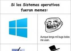 Enlace a Si los sistemas operativos fueran memes...