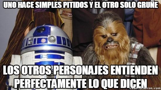 Meme_otros - ¿Será que en Star Wars todos saben cualquier idioma?