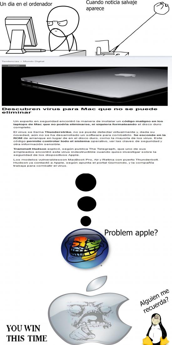 Otros - ¿El primer virus para Mac?