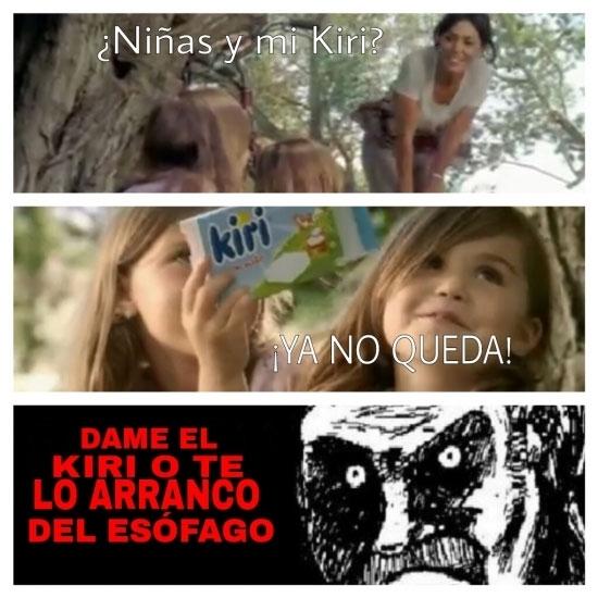 Mirada_fija - Cuando tus propias hijas te roban comida