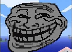 Enlace a Hacer un trollface en minecraft no es tan fácil como te esperabas