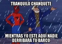 Enlace a Spiderman cambiando la historia