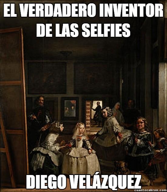 Meme_otros - El verdadero inventor de las selfies