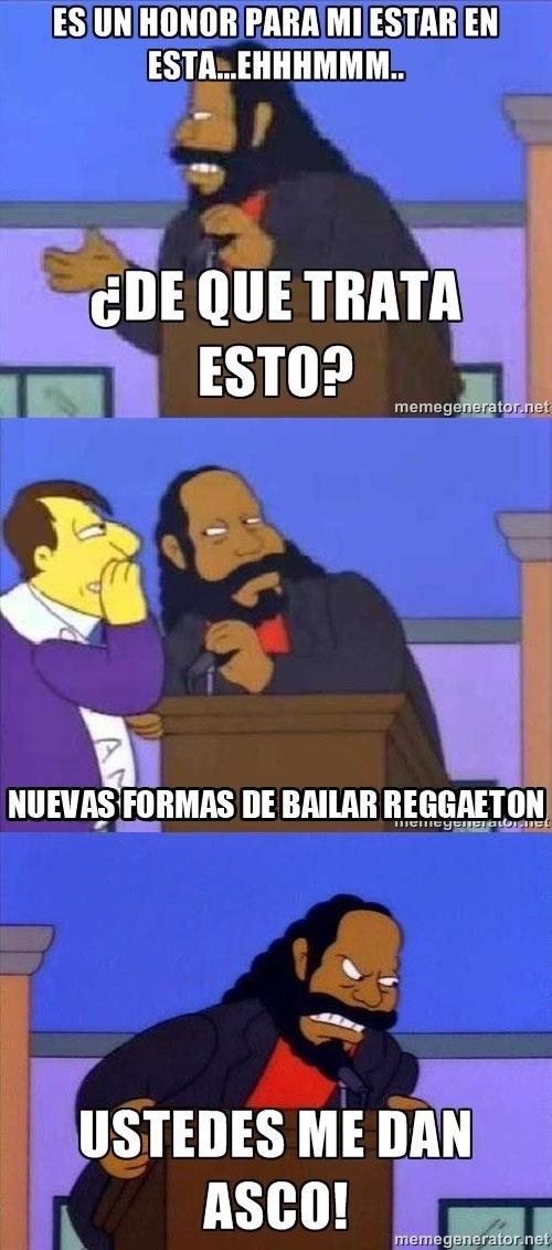 Asco,baile,barry white,los simpson,nuevas formas de bailar,reggaeton