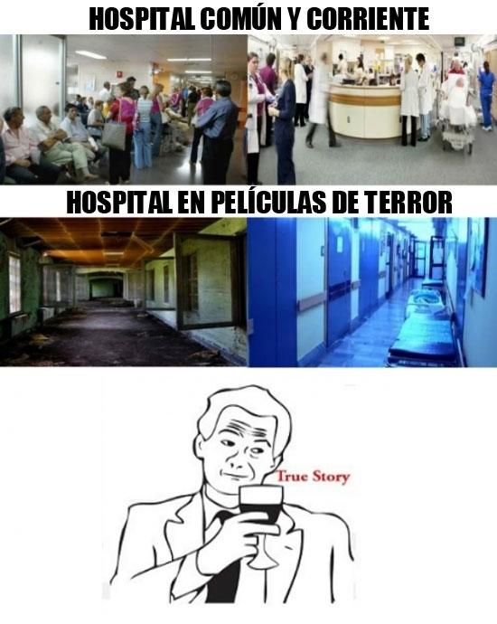Otros - No sé qué versión de hospital me da más miedo