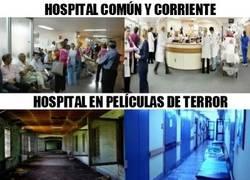 Enlace a No sé qué versión de hospital me da más miedo