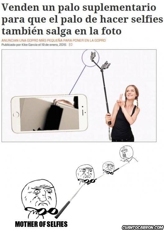 Mother_of_god - Ya es oficial, lo de las selfies se nos ha ido de las manos para siempre