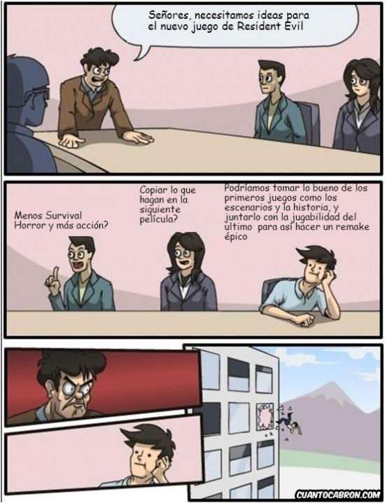 Otros - Decidiendo cómo serán los próximos Resident Evil