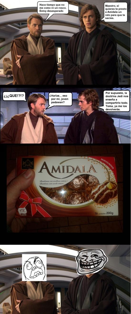 Trollface - Necesidades Jedi muy bien cubiertas