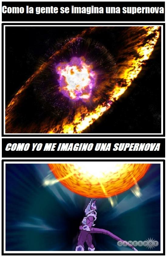 Otros - No todos entendemos lo mismo al pensar en una supernova
