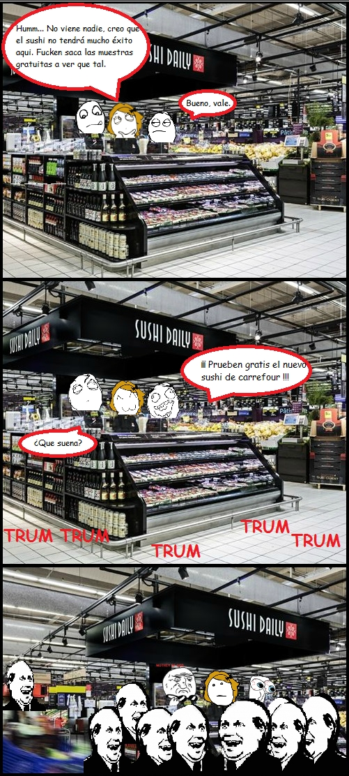 Its_free - Nada más tentador que las muestras gratis de los supermercados