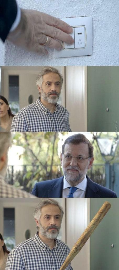 Otros - No todo el mundo se alegraría de recibir una visita en casa de Rajoy