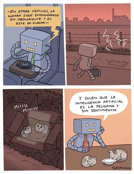 Otros - Ojalá pudiera ser un robot yo también