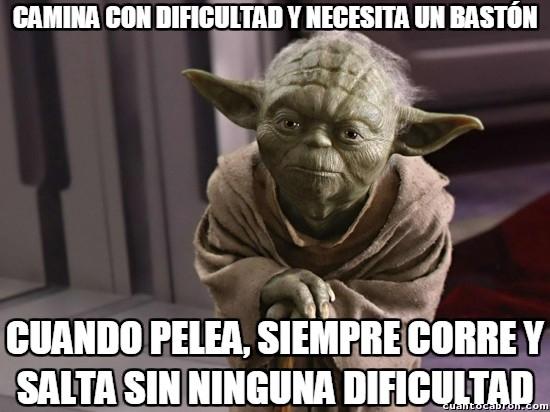 Meme_otros - Mucho cuento le echa Yoda...
