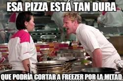 Enlace a La pizza más dura
