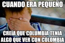 Enlace a ¿Columbia? ¿Colombia?