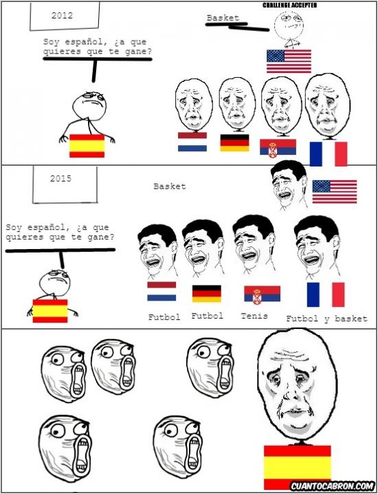 Okay - El deporte español no pasa por su mejor momento