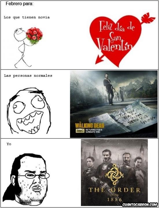 Friki - No todo es San Valentín en febrero