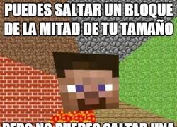Enlace a La altura no importa en Minecraft