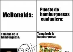 Enlace a Si vas a restaurantes de comida rápida es que no te gustan realmente las hamburguesas