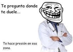 Enlace a El lado troll de los médicos no tiene fin