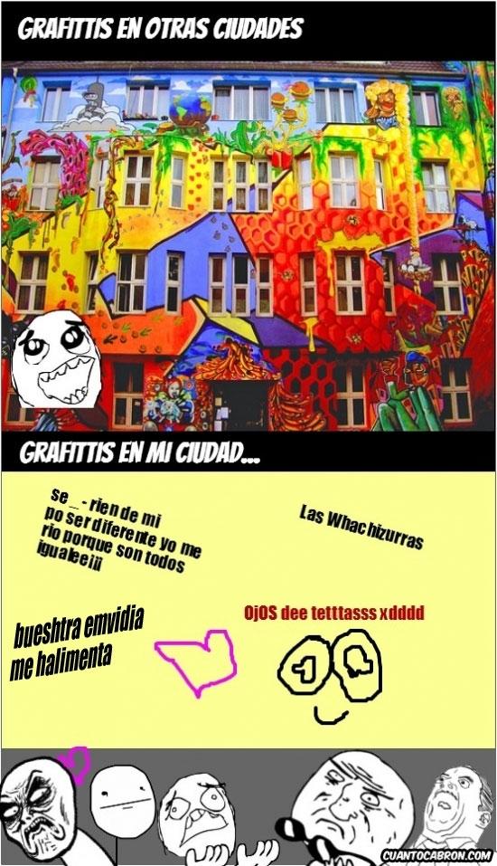 Mix - No todos los grafittis son arte
